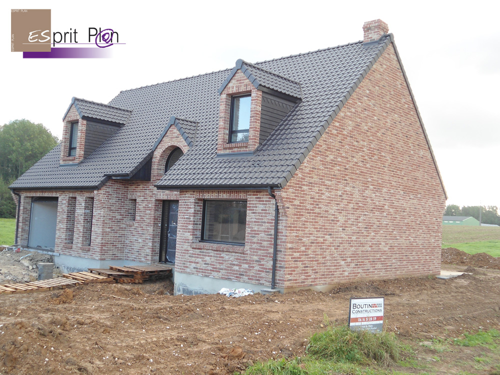 Realisations maison extensions renovations sur arras for Construire mur en brique