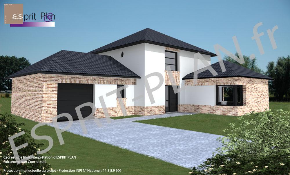 Avant projet maison extensions renovations sur arras for Maison en siporex prix