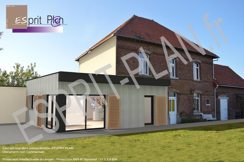 Maison neuve extensions r novations plan de maison for Plan agrandissement maison individuelle